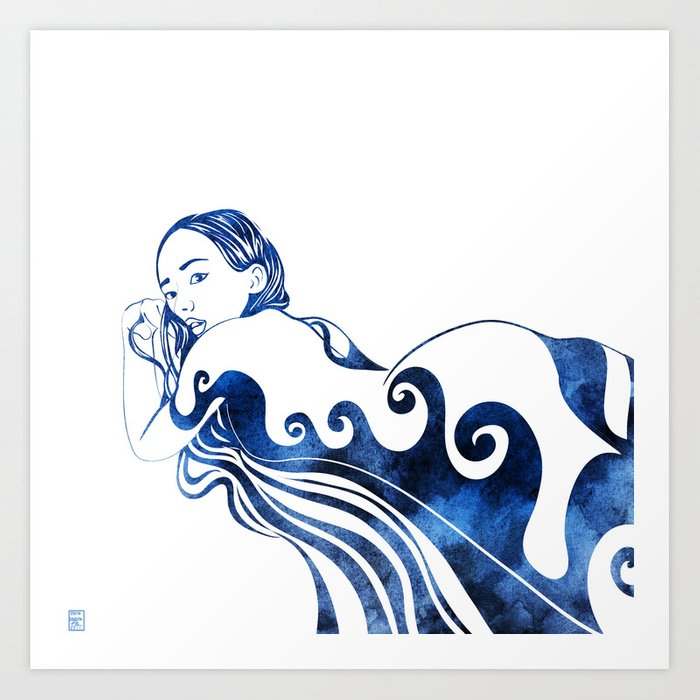 Water Nymph III Art Print