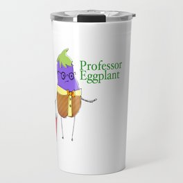 Professor Eggplant Travel Mug