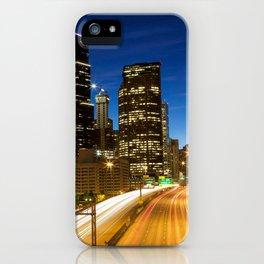 Amazing Seattle Night iPhone Case