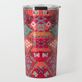 18 - Traditional Colored Epic Anthique Bohemian Moroccan Artwork Travel Mug