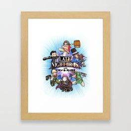 Smash LNC Framed Art Print