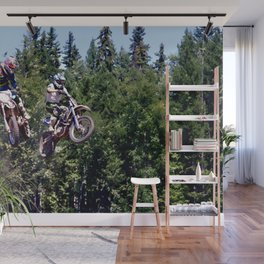 Closing In - Motocross Racers Wall Mural