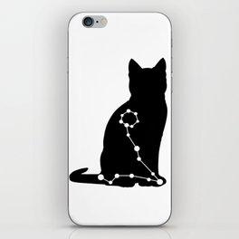 pisces cat iPhone Skin