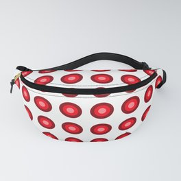 Bullseye -- Red Fanny Pack