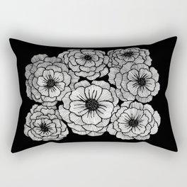Poppy Patch Rectangular Pillow