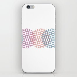 overlapping circles iPhone Skin