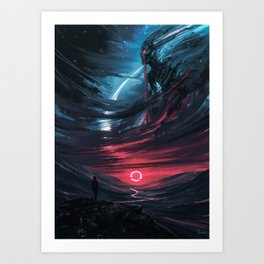 the Omen Art Print