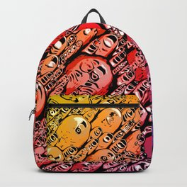 Gradient of Shapes Backpack