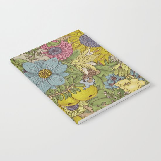 the wild side - spring tones Notebook