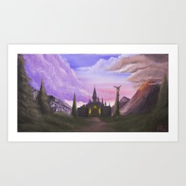 Path to Hyrule  Art Print