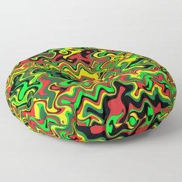 Rasta Vibrations Floor Pillow