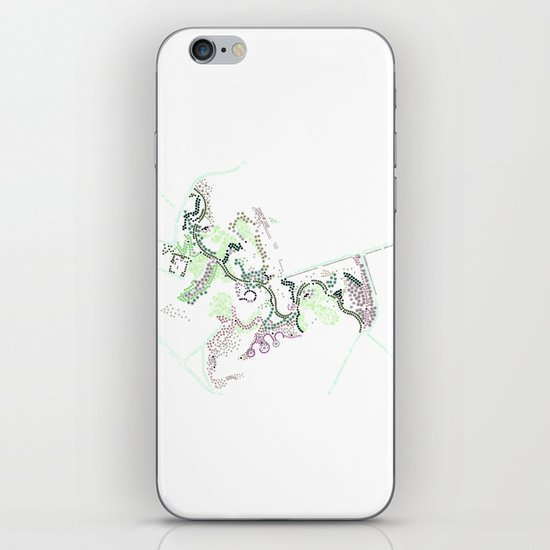 City of Plants iPhone & iPod Skin