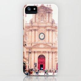 Saint-Paul Saint-Louis Church - Le Marais, Paris iPhone Case