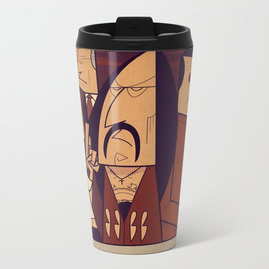 Machete Metal Travel Mug