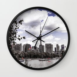 CN View Wall Clock