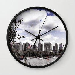 CN View Wall Clock