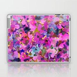 Pink Rainbow Garden Laptop & iPad Skin