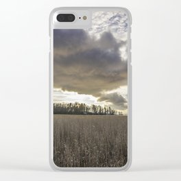 Clouds Above Us Clear iPhone Case