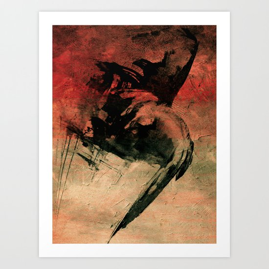 Saci Pererê Art Print