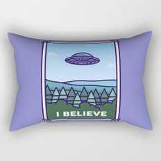 I Believe Rectangular Pillow