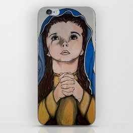The Holy Child Mary iPhone Skin