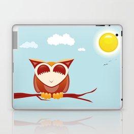 Owl alseep Laptop & iPad Skin