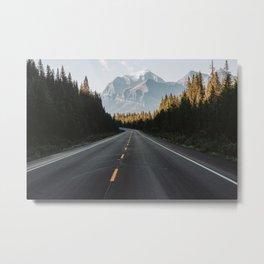 Icefield Parkway Metal Print