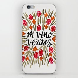 In Wine, There is Truth – Red iPhone Skin