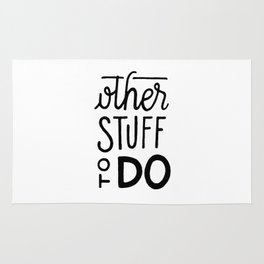 Other stuff to do Rug