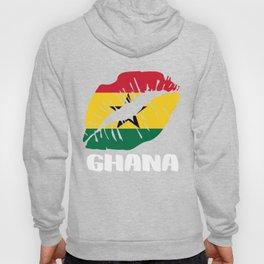 GHA Ghana Kiss Lips T-Shirt Hoody