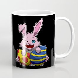 Cute Easter Bunny Wishes You A Happy Easter Coffee Mug