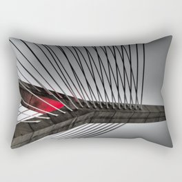 Leonard P. Zakim Bunker Hill Memorial Bridge Rectangular Pillow