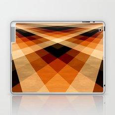 Autumn Groovy Checkerboard Laptop & iPad Skin
