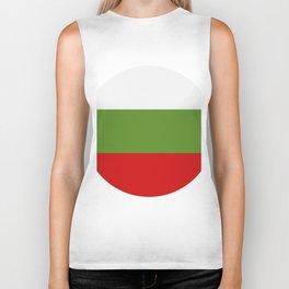 Bulgarian flag Biker Tank