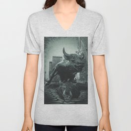 Triumph of the Bull Unisex V-Neck