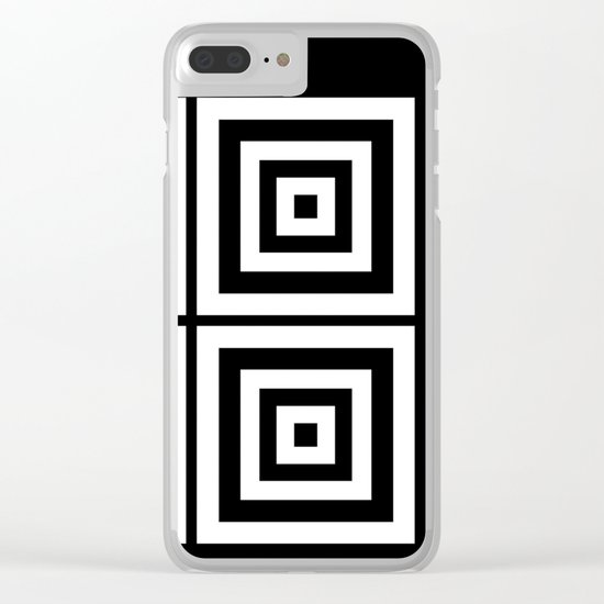 Mystery Inside Clear iPhone Case