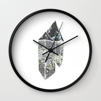 crystal Wall Clocks featuring Crystal by Beatricepl