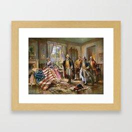 Betsy Ross United States History Framed Art Print