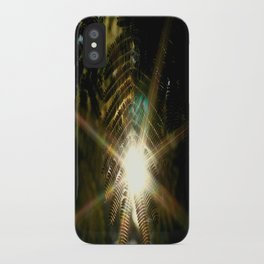 Shine Through iPhone Case