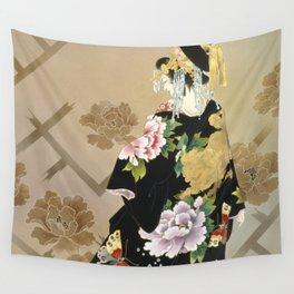 Haruyo Morita - Echigo Dojouji Wall Tapestry
