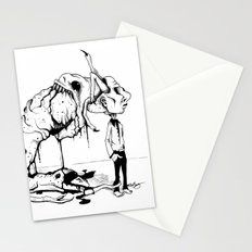 A Carnivore's Dream Stationery Cards