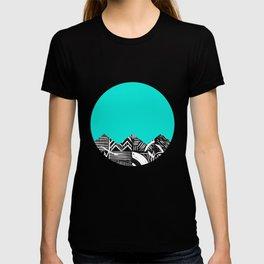 Sky lino bright T-shirt