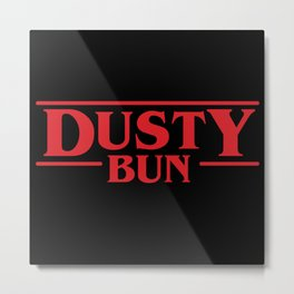 Strange Dusty Bun Metal Print