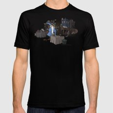 Collection of Curiosities Black X-LARGE Mens Fitted Tee