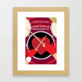 80s TEEN MOVIES :: SOME KIND OF WONDERFUL Framed Art Print