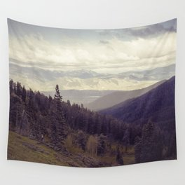 Above The Mountains Wall Tapestry