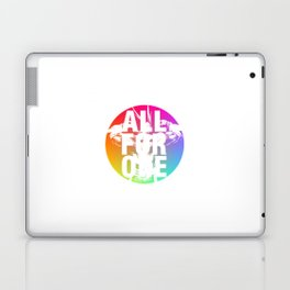 ALL FOR ONE Laptop & iPad Skin