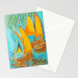 """""""St. Lucia"""" Stationery Cards"""
