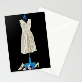 Mannequin with Shoes Stationery Cards