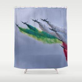Frecce Tricolori Shower Curtain